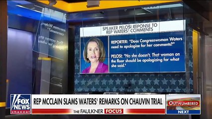 GOP rip Pelosi for 'double standard' on Maxine Waters' comments