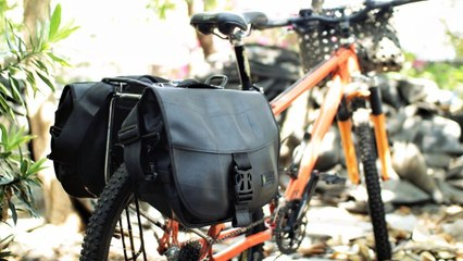 This local brand turns old tires into waterproof bags