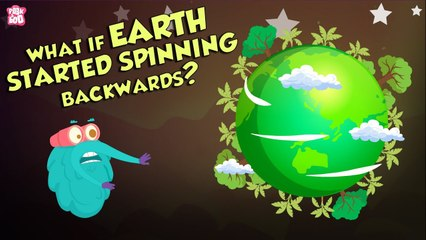 What If EARTH Starts Spinning Backward?   Earth   Dr Binocs Show   Peekaboo Kidz