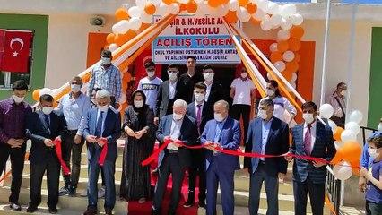 Nusaybin'de Hacı Beşir ve Hacı Vesile Aktaş İlkokulu açılışı yapıldı