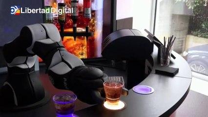 Una empresa suiza crea un robot camarero para bares y restaurantes para evitar contagios
