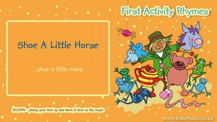 Kidzone - Shoe A Little Horse