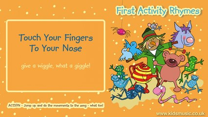 Kidzone - Touch Your Fingers To Your Nose