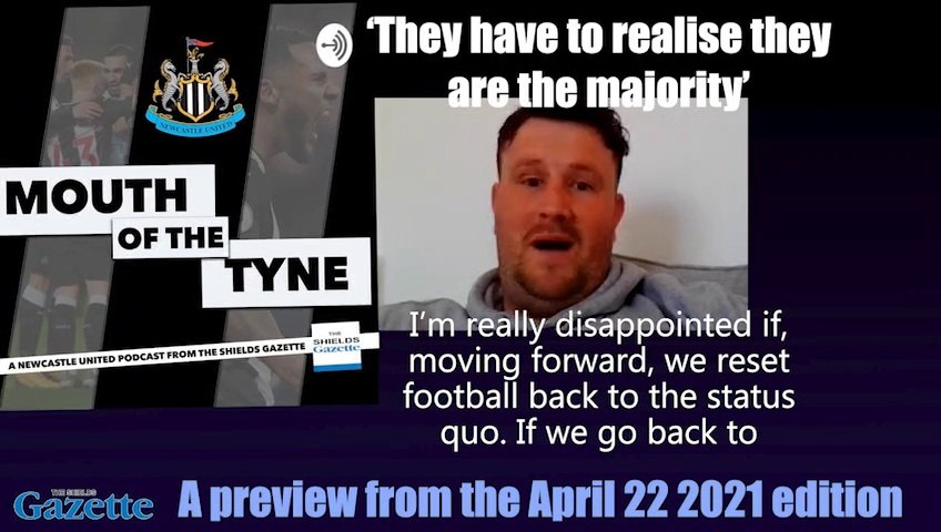 Mouth of the Tyne podcast on the aftermath of the European Super League row