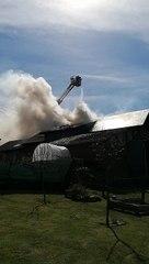 Violent incendie à Francorchamps