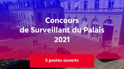 Concours de Surveillant du Palais