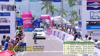 Vuelta a Colombia: Revive los últimos 5 km de la etapa 6