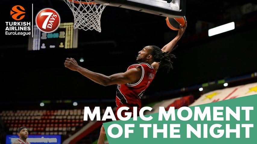 7DAYS Magic Moment of the Night: Jeremy Evans, AX Armani Exchange Milan