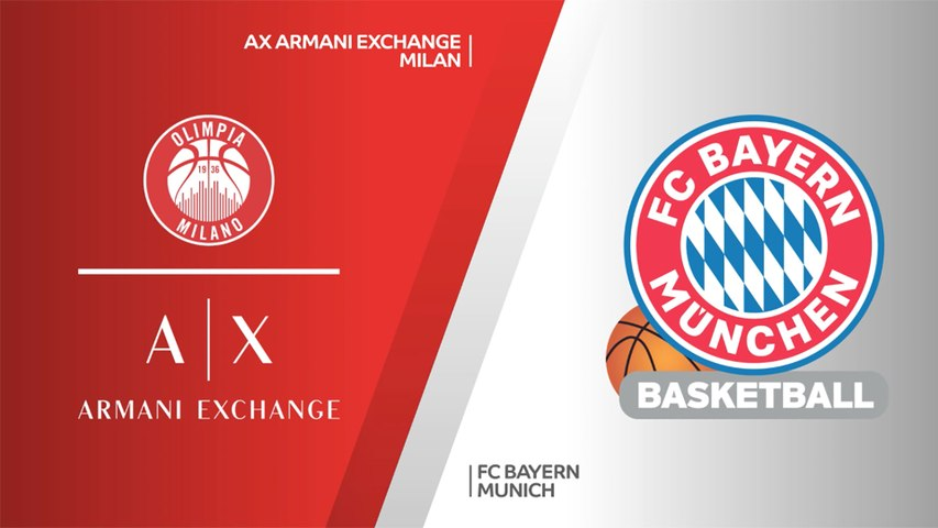 AX Armani Exchange Milan - FC Bayern Munich Highlights   Turkish Airlines EuroLeague, PO Game 2