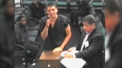 Court Cam: Guy Starts Rapping at Judge After He's Charged