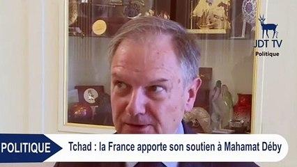 La France apporte son soutien à MAHAMAT DEBY