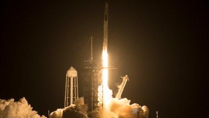 Le décollage de Space X avec Thomas Pesquet vers la Station spatiale internationale