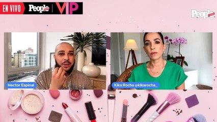 Hector Espinal habla sobre look de Anitta en Latin Amas 2020
