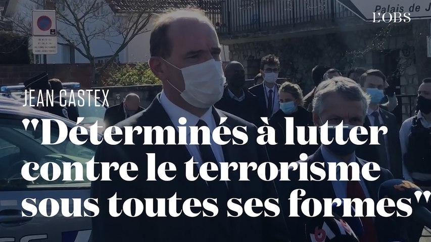 Jean Castex s'exprime depuis Rambouillet, où une fonctionnaire de police a été tuée au couteau