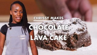 Chrissy Makes Chocolate Lava Cake
