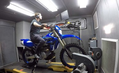 2021 Yamaha WR450F Dyno Test