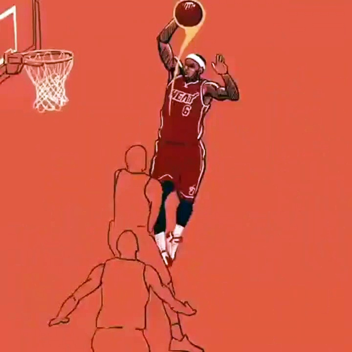 NBA Highlights Animation version