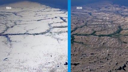 Le réchauffement climatique mis en image par Timelapse, le nouvel outil de Google Earth