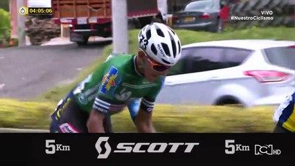 Vuelta a Colombia: Revive los últimos 5 km de la etapa 8