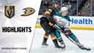 Golden Knights @ Ducks 4/24/21   NHL Highlights