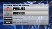 Phillies @ Rockies Game Preview for APR 25 -  3:10 PM ET