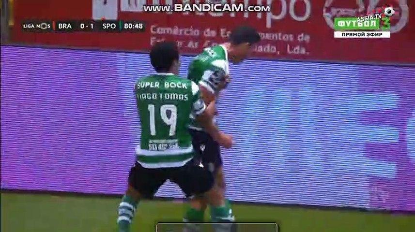 Matheus Luiz  goal  SC Braga  0  -  1  Sporting CP