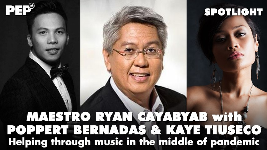 Ryan Cayabyab, Kaye Tiuseco, and Poppet Bernadas: Helping through music in the middle of pandemic