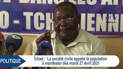 La société civile au Tchad appelle à manifester dès le 27 avril