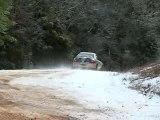 100 Acre Woods Rally, big slide