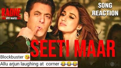 Salman Khan Disha Patani's Song 'Seeti Maar' From Radhe Out | Netizens React