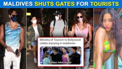 Alia - Ranbir, Sara-Janhvi Celebs Return From Vacation As Maldives Tourism Shuts Gates | Funny Memes Viral