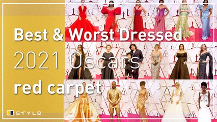 Oscars 2021 best and worst dressed on the red carpet
