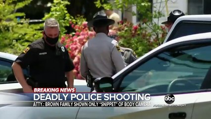 Family of Andrew Brown Jr. views body cam footage of fatal shooting  WNT
