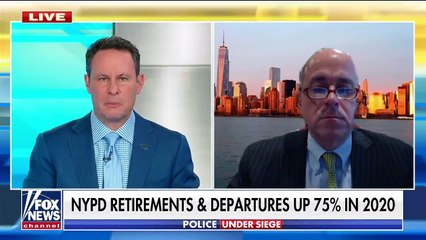 NYPD departures, retirements up 75 percent in 2020