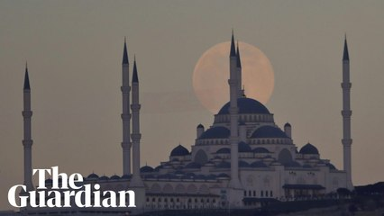 First supermoon of 2021 rises across the globe