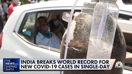 India's health care system near collapse amid latest wave of Covid-19 cases