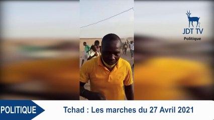 Manifestations au Tchad : plusieurs jeunes prennent d'assaut  les rues ce 27 avril