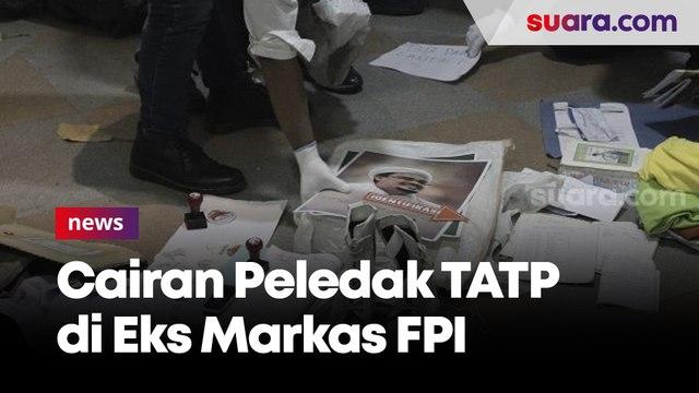 Tangkap Munarman, Densus 88 Polri Amankan Cairan Peledak TATP di Eks Markas FPI