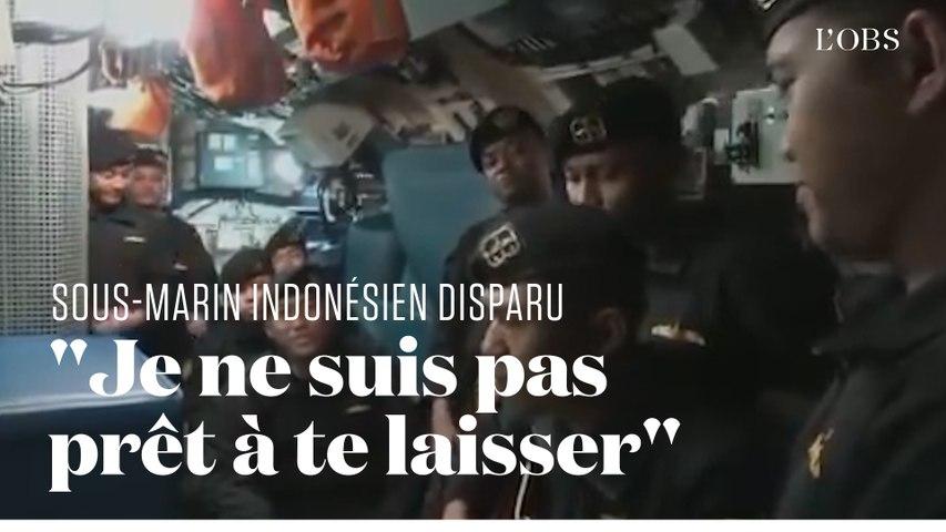 L'équipage du sous-marin indonésien disparu chante « Au revoir »