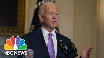 Biden Delivers Remarks On New CDC Mask Guidelines