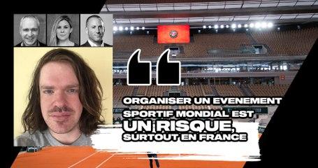 """Match Points #27 (extrait) : """"Accueillir un évènement sportif mondial représente un risque, surtout en France"""""""