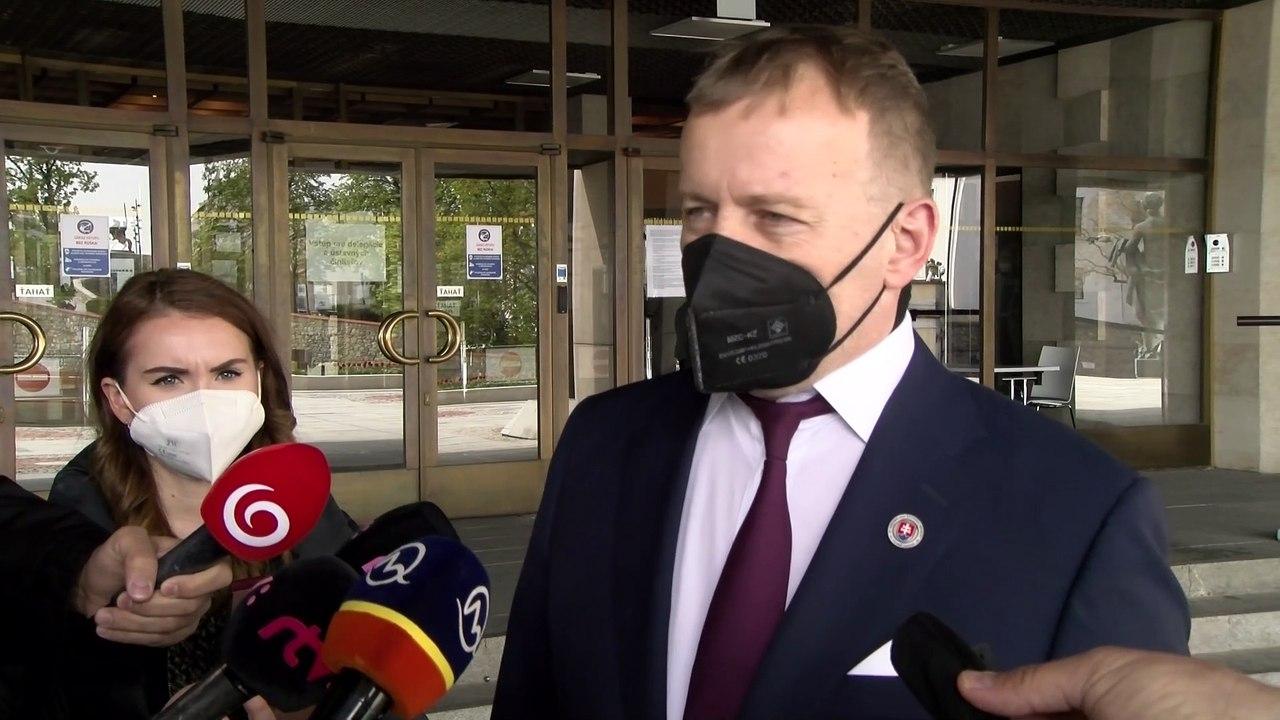 ZÁZNAM: Brífing predsedu NR SR B. Kollára