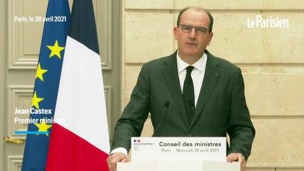"""Tribune de militaires : Castex condamne """"une récupération politique inacceptable"""" par Marine Le Pen"""