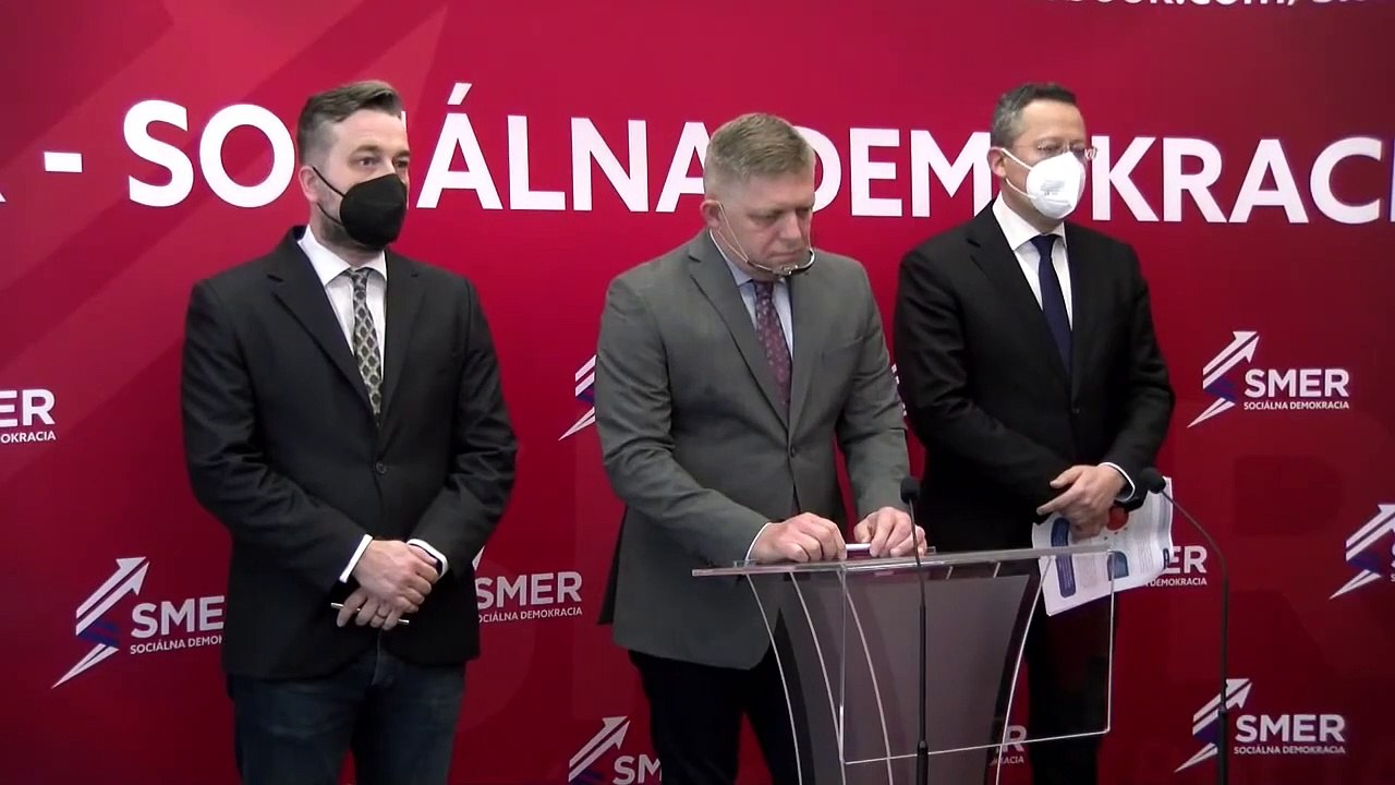 ZÁZNAM: TK strany Smer - SD