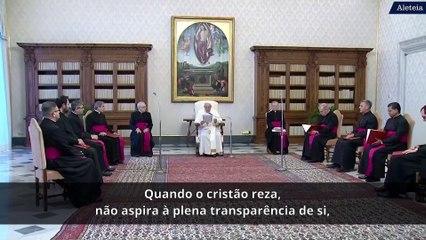 Oração e meditação, segundo o Papa Francisco