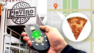 Building a Compass That Finds Pizza