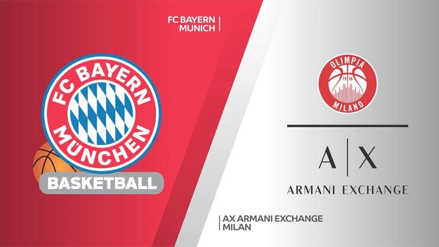 FC Bayern Munich - AX Armani Exchange Milan Highlights   Turkish Airlines EuroLeague, PO Game 3