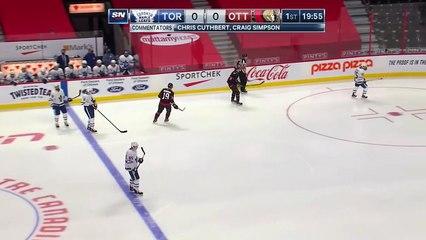 Maple Leafs @ Senators 1/16/21   Nhl Highlights