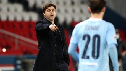 Défaite du PSG face à Manchester City : Pochettinoveut «y croire» pour le match retour