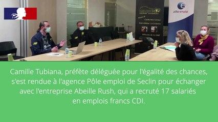 France relance - Les emplois francs : l'exemple d'Abeille rush